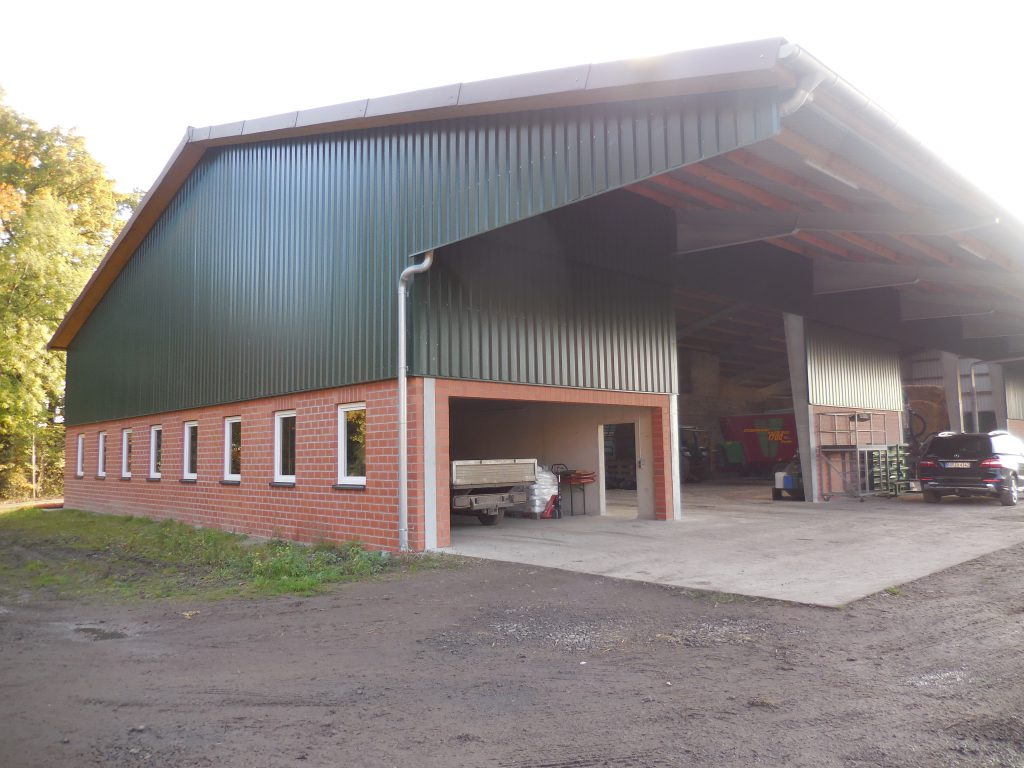 Landwirtschaftlicher Lagerhalle