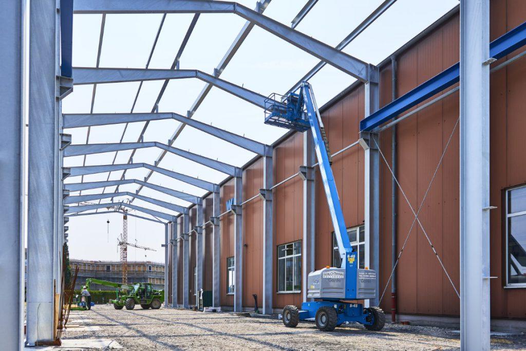 Erweiterungsbau Industriehalle