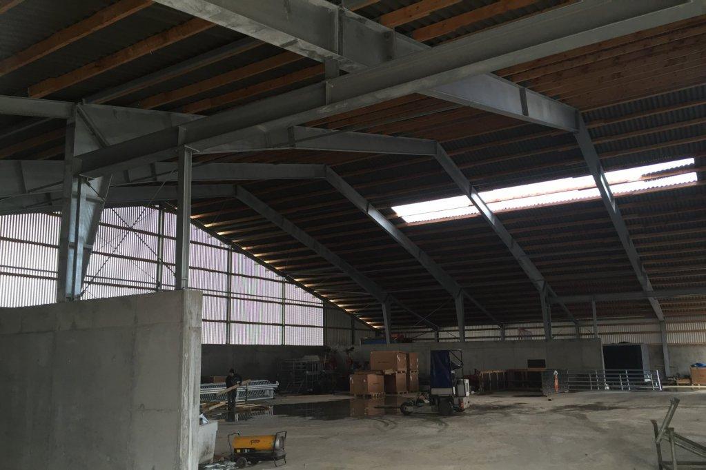 Bau Mistlagerhalle