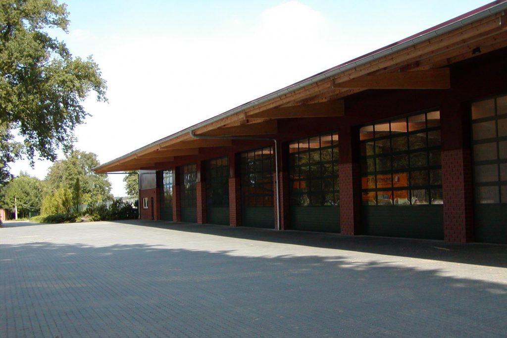Gewerbehalle Rottmann Kragarm 2
