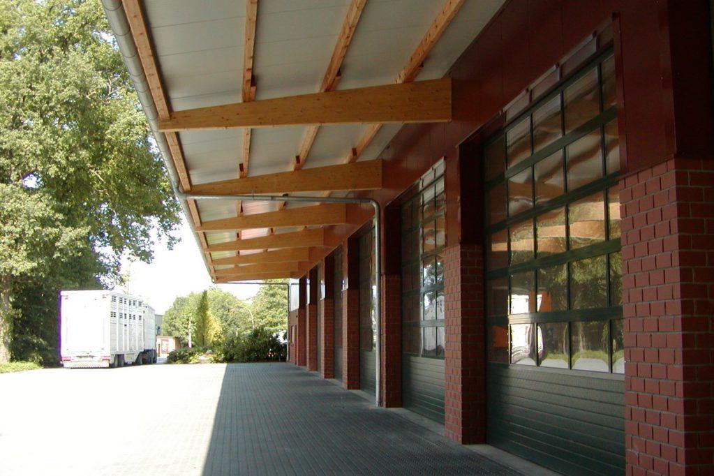 Gewerbehalle Rottmann Kragarm