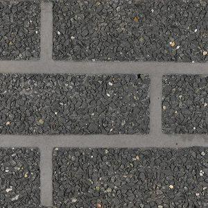 Verblenderoptik SPLIT schwarz/ schwarz-verfugt