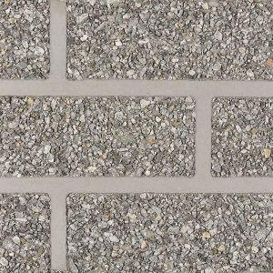 Verblenderoptik SPLIT schwarz-weiss/ grau-verfugt