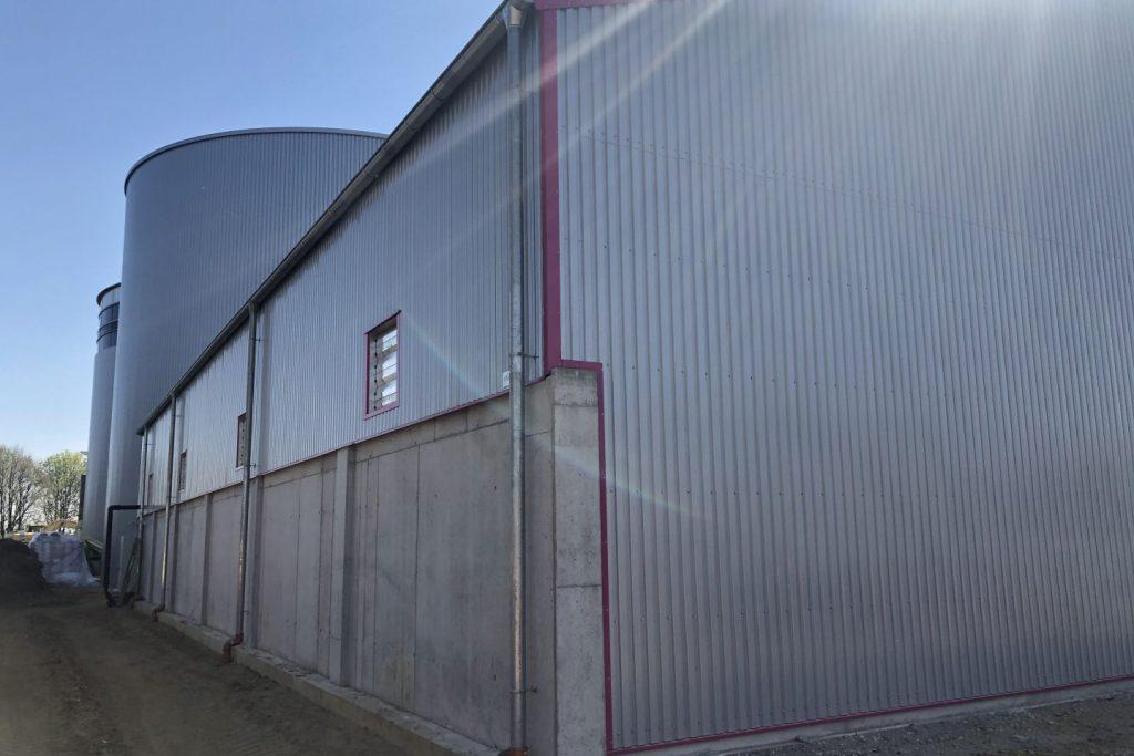 Bioenergie Gärresthalle